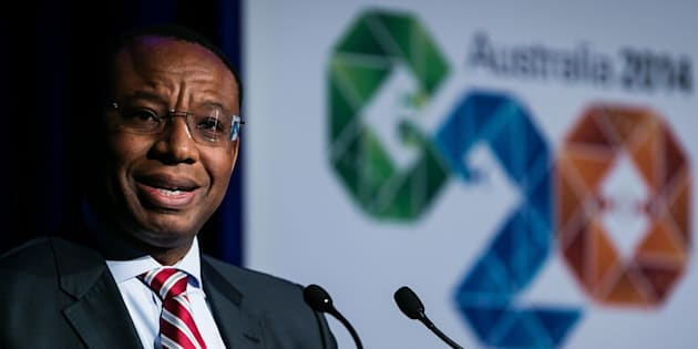 Daniel Mminele, deputy governor of the South African Reserve Bank.