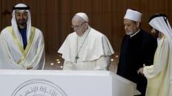 Desde tierras del islam, el papa llama a la libertad