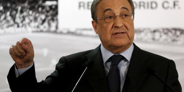 Florentino Perez, presidente de ACS y Real Madrid.