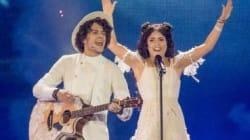 À l'Eurovision 2017, ce couple biélorusse n'a laissé personne