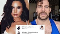 Demi Lovato Set A Thirst Trap For Henry Cavill And He Fell Right