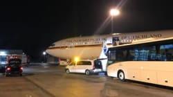 Merkel no llega a la inauguración del G20 en Buenos Aires, su avión