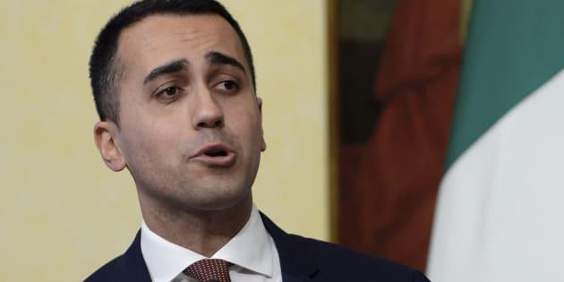 """Luigi Di Maio: """"Sui morti in mare molte lacrime di cocc"""