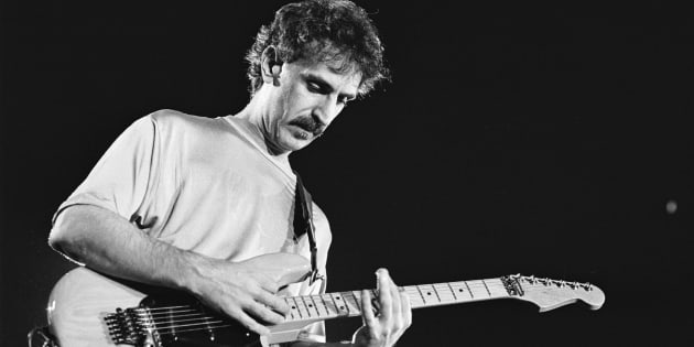 ROTTERDAM, NETHERLANDS - MAY 3rd: American musician Frank Zappa (1940-1993) performs at the Ahoy in Rotterdam, the Netherlands on 3rd May 1988. (photo by Frans Schellekens/Redferns)