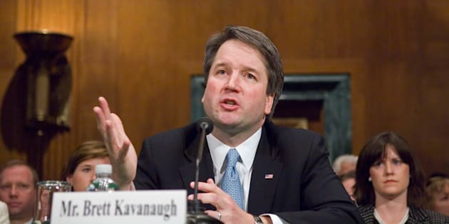 Brett Kavanaugh last appeared before the Senate Judiciary Committee for a confirmation hearing in late April 2004 as President George W. Bush's nominee to the U.S. Court of Appeals for the D.C. Circuit.
