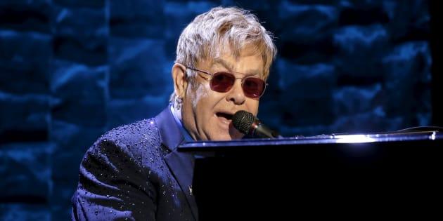 Elton John will play the Apple Music Festival on September 18.