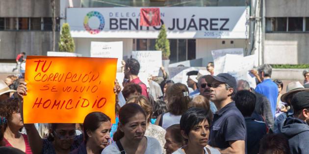 Reportan sismo con epicentro en Benito Juárez