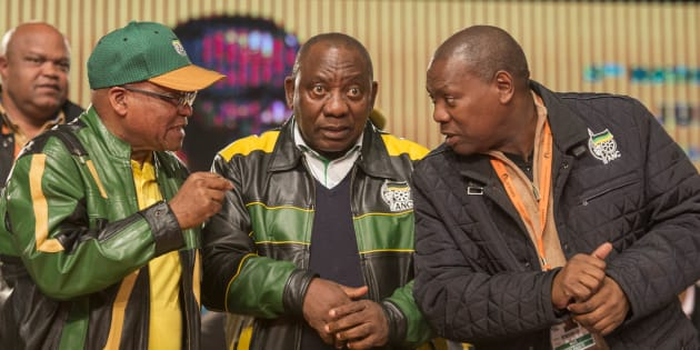 Cyril Ramaphosa and Zweli Mkhize both dream of taking over from President Zuma.