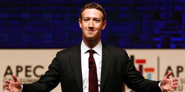 Mark Zuckerberg à Lima au Pérou le 19 novembre 2016.