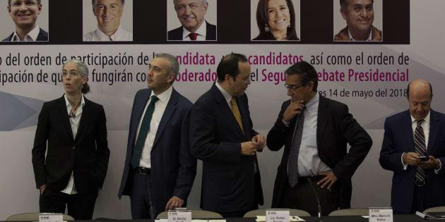 Primer debate presidencial costó 12.7 mdp: el doble de lo que el INE prometió