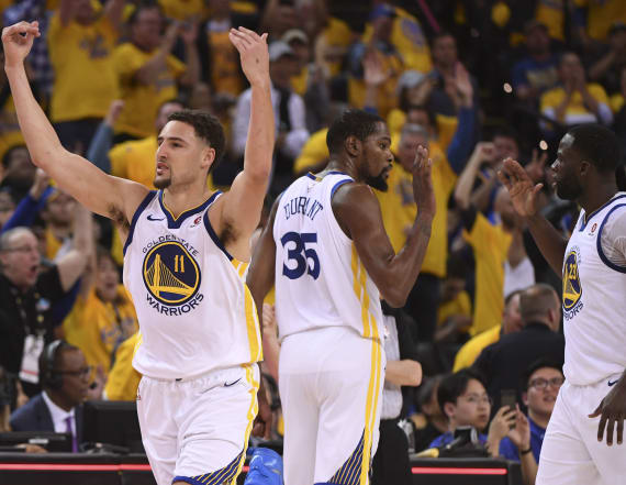 Warriors shut down San Antonio to seal series