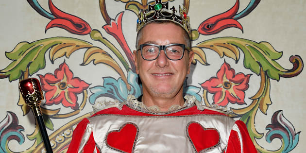 MILAN, ITALY - SEPTEMBER 24:  Stefano Gabbana attends Dolce & Gabbana Queen Of Hearts Party show during Milan Fashion Week Spring/Summer 2018 at  on September 24, 2017 in Milan, Italy.  (Photo by Venturelli/Getty Images for Dolce & Gabbana)