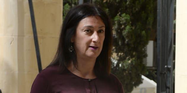 Daphne Caruana Galizia, une blogueuse qui avait accusé le gouvernement maltais de corruption, assassinée