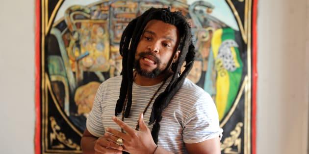 South African artist Ayanda Mabulu