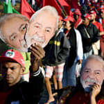 Marcha 'Lula Livre' em Brasília tem MST e vencedor do Nobel da