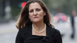 Freeland Postpones UN Speech As NAFTA Negotiations