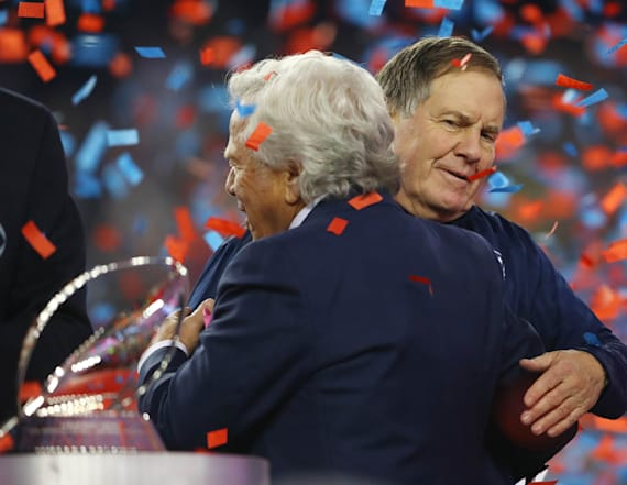 Belichick had no interest in AFC Championship trophy