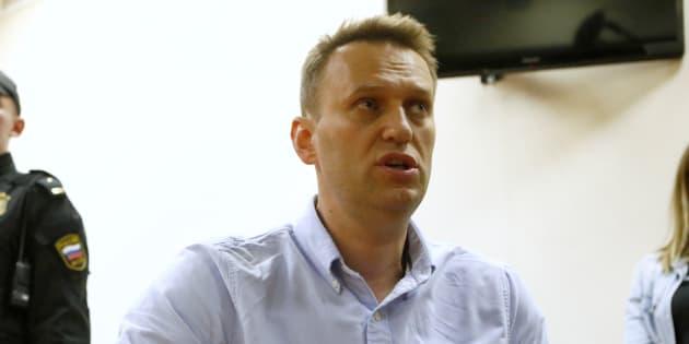 L'opposant russe AlexeïNavalny condamné à la prison, 1500 de ses soutiens anticorruption interpellés