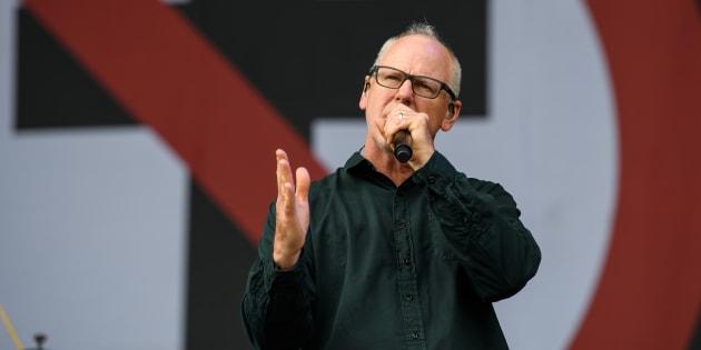 Greg Graffin, líder da banda de punk rock formada em 1979.