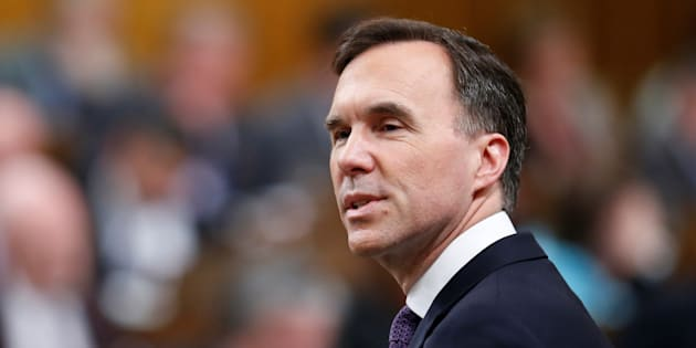 Finance Minister Bill Morneau delivers the budget in the House of Commons on Parliament Hill in Ottawa, on Feb 27. 2018.