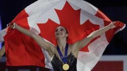 Canadian Captures Gold At World Figure Skating