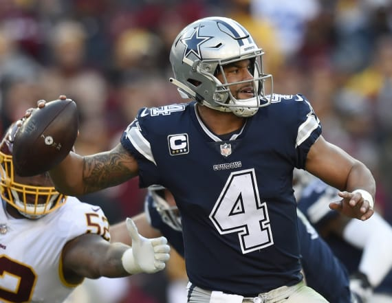 Dak Prescott raises eyebrows with smelling salt use