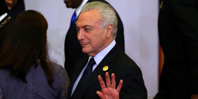 Em 12 de maio de 2016, Michel Temer recebeu a notificação para assumir a Presidência da República, no lugar de Dilma Rousseff.