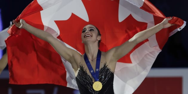 Canada's Osmond wins world title as Zagitova, Kostner fall