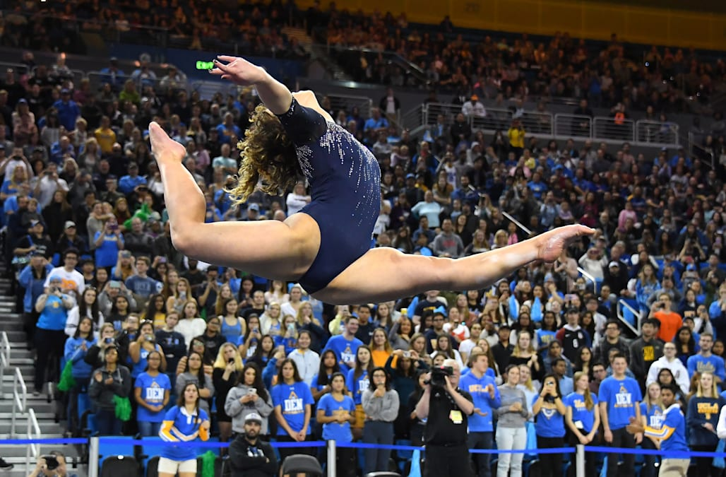 UCLA gymnast removes Michael Jackson music from viral routine after 'Leaving Neverland' - AOL