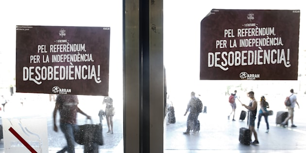 Appli, Telegram, Twitter... le gouvernement catalan a mis le paquet pour encourager le vote.
