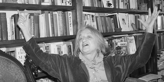 Betty Friedan, women's liberation movement pioneer and author of 'The Feminine Mystique'.