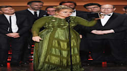 Adele Says She 'Can't Accept' Album Of The Year At The Grammys, Dedicates It To