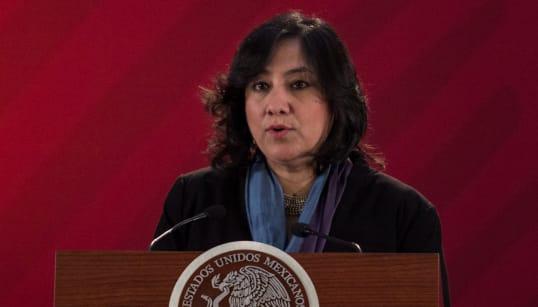 Trabajadores de SFP piden a Irma Eréndira Sandoval que se les pague y liquide