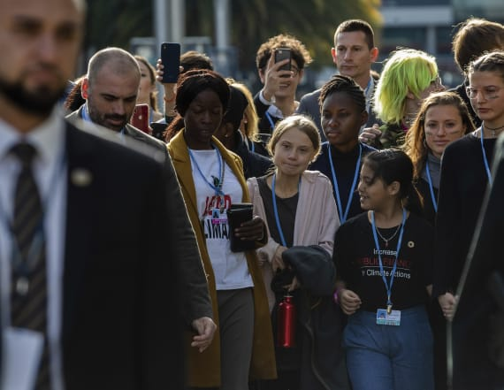 Clamor as Greta Thunberg joins climate activists