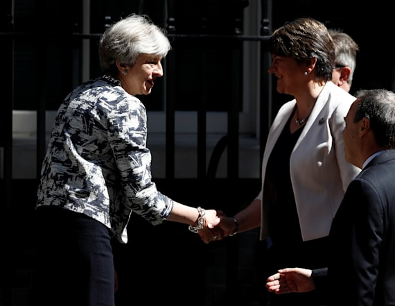 May strikes 1B pound deal with Northern Ireland