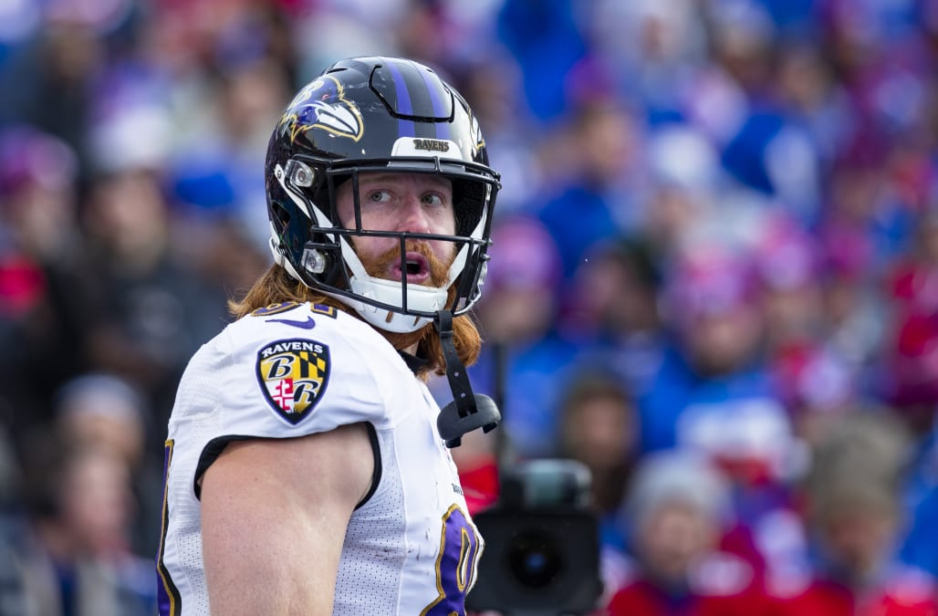 Ravens TE Hayden Hurst says he attempted suicide in 2016