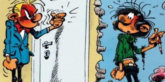 """Dans le film """"Gaston Lagaffe"""" de Pef,  le gaffeur ne travaillera pas chez Spirou mais dans une..."""