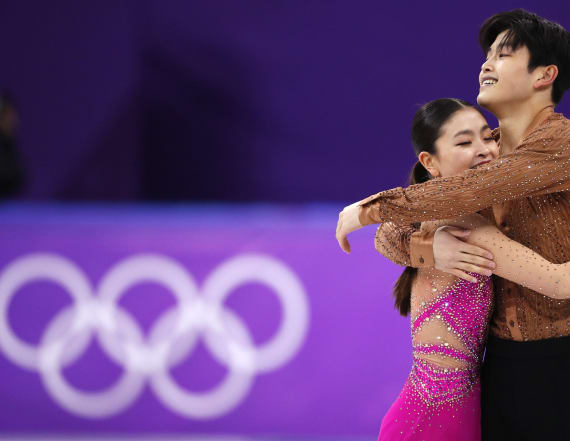 US sister-brother Olympic ice dancing pair go viral