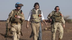 Watch: Trudeau Gets First-Hand Look At Canadian Peacekeeping In