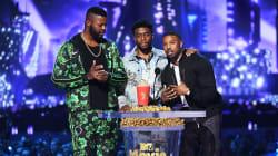 Beaucoup de popcorn doré pour «Black Panther» aux MTV
