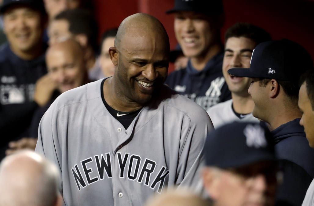66ec4d061807 Yankees  Sabathia becomes 17th pitcher with 3