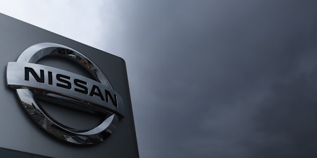 The logo of the Nissan Motor Co. is displayed in Tokyo, Japan, Oct. 19. Nissan Canada Finance says it has been the victim of a data breach that may have involved the personal information of some customers who financed their vehicles through the automaker.
