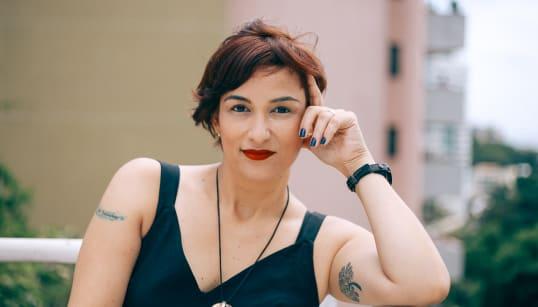 Dia 248: Luciana Comin, a atriz da