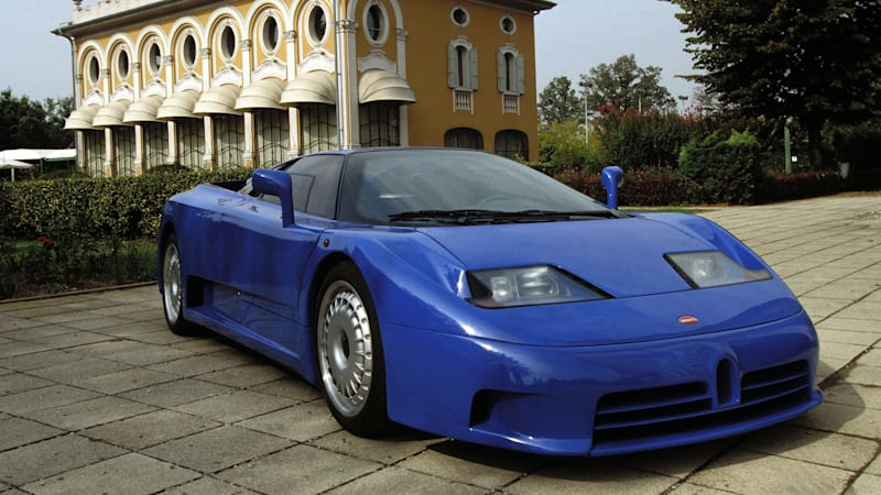 The Bugatti EB110 showed the way for future hypercars