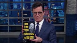 Stephen Colbert Skewers Donald Trump's Defense Secretary