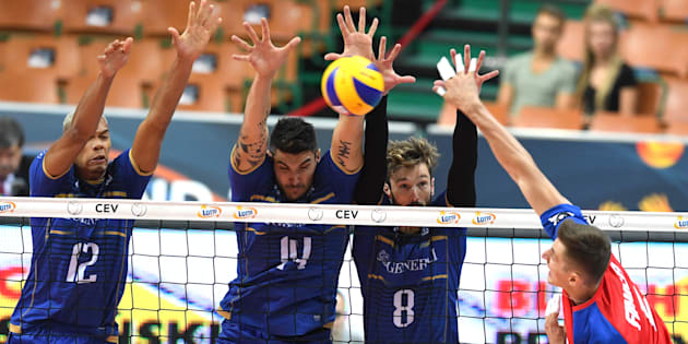Les Bleus s'arrêtent avant les quarts de finale à l'Euro de volley en Pologne.