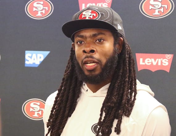 Richard Sherman slams new NFL helmet rule