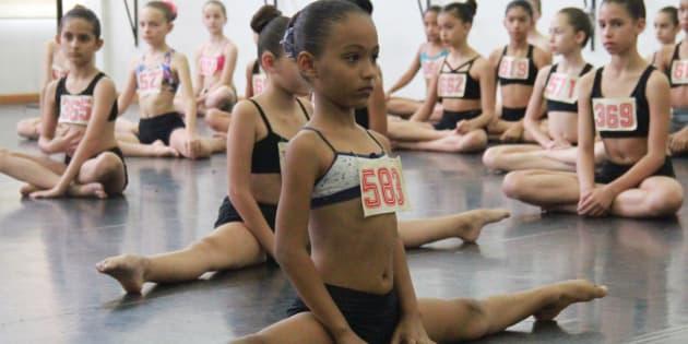 A concorrência entre as meninas é maior, como foi para a baiana Lara Sophia.