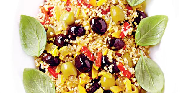 Une semaine de salades simples et pratiques à apporter au bureau