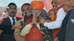 PM Narendra Modi Calls Congress A 'Sinking Ship' At An Election Rally In